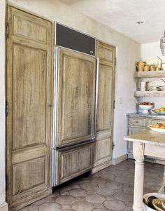 European country kitchen style
