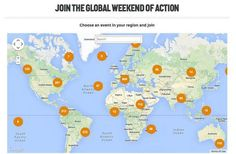 Find a #PeoplesClimate March in your part of the world. Global interactive map: http://peoplesclimate.org/global/