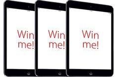 Want to win an iPad mini from GFS Marketplace? Just complete or update your email profile!