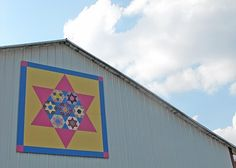 Barn Quilts and the American Quilt Trail: Monica's Seven Sisters