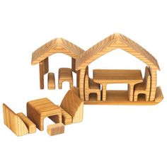 Wooden House Puzzle