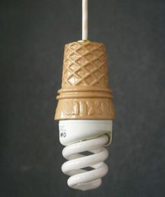 ice cream light fixture