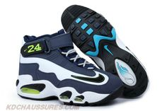 Blanc-Noir/Midnight Navy-Stealth Nike Air Griffey Max 1