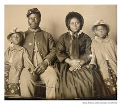 american union, african americans, photograph, soldiers, union soldier, africanamerican, civil war, families, black