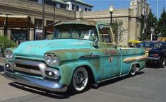 Love the old trucks