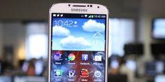 A closeup of Samsung Galaxy 4S