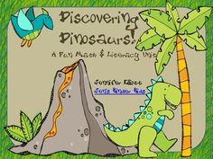 Great Dinosaur Math & Literacy Center Activities!