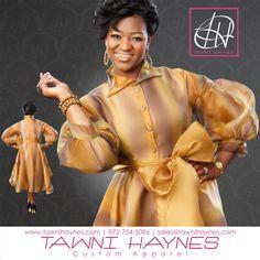 Tawni Haynes Custom Made Organza Swing Dress with custom Accessories..  Tawni 972-754-5096.  http://shop.tawnihaynes.com/products/organza-swing-dress