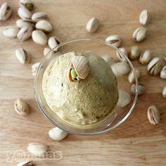 Nuts for pistachios?! Try this creamy, sweet Pistachio #Yonanas recipe. | Banana Ice Cream