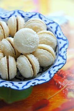 Tom Yam-Flavored French Macarons Recipe
