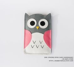 owl iphone case-- must make!!