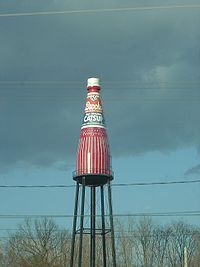 World's largest ketchup bottle. Collinsville, IL.