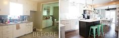 kitchen remodel on a