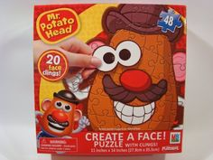 Mr Potato Head Create a Face 48 Piece Jigsaw Puzzle With Face Clings Playskool,http://www.amazon.com/dp/B00FV2US90/ref=cm_sw_r_pi_dp_JAaFsb0QMC0GE3T3