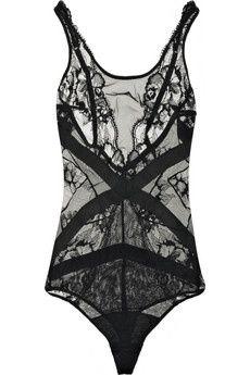 Croisette lace bodysuit ($200-500) - Svpply