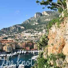 Honeymoons Travel: French Riviera Honeymoons from The Knot