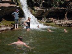 List of waterfalls and swimming holes in Utah