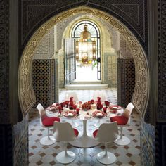 .Fabulous modern Moroccan space. I'm pretty sure that this is a Zara Home ad. modern, interior, dine, zara home, hous, homes, morocco, key, design