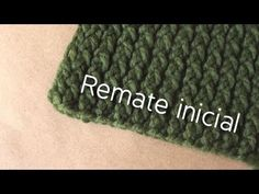 ▶ Remate inicial // Bufanda en telar - YouTube