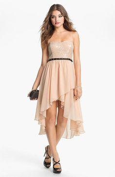 Hi Lo dress #prom