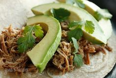 Slow Cooker Mexican Pork Carnitas [from Skinnytaste via Slow Cooker from Scratch] #SlowCooker #CrockPot #Summer