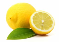 Lemons are a healthy addition to water and tea!