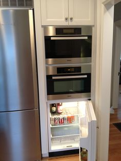 ... below the Miele microwave/convection oven and Miele steam oven) More