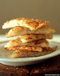 Grated Potato Pancakes - Martha Stewart Recipes