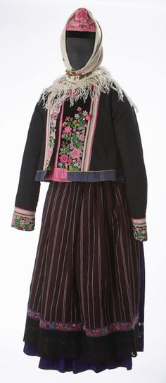 Doukhobor Woman's Traditional Outfit  Date: late 19th century
