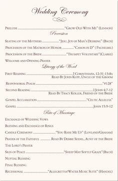 ceremoni program, wedding ceremonies, wedding church program, catholic ceremony program, catholic wedding programs, wedding program template, catholic wedding songs, cathol mass, catholic church wedding
