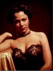 Dorothy Dandridge - The FIRST black actress to be nominated for a Best Actress Academy Award. Her talent and beauty made her a force to be reckoned with.