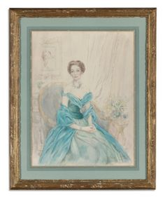 """""""PORTRAIT OF BROOKE ASTOR"""" by Sir Cecil Beaton"""