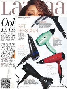 Latina Magazine love the Harry Josh Blow Dryer- Latina, July 2014