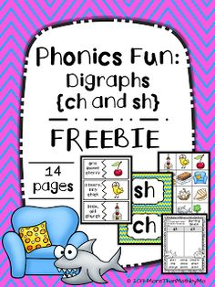 Instagram, My Classroom, and a FREEBIE...puzzles, word sorts, and printables practicing sh and ch