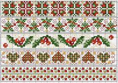 Christmas borders chart