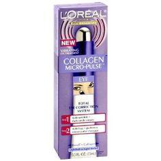 L'Oreal Paris Collagen Micro-Pulse Eye Correction System, 0.5-Fluid Ounce (Misc.)  http://www.agenkurma.com/file.php?p=B003A8GG8E  B003A8GG8E