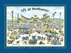 Let's Goooo Mountaineers!