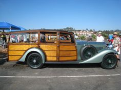Yes...1933 Rolls Royce Woody