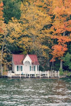 Cottage on the Lake.