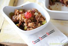 Collin Street Bakery Fruitcake Stuffing - Zestuous