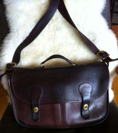 Vintage Coach Musette Carrier Bag Made in NYC by ThePaintedSaddle, $230.00