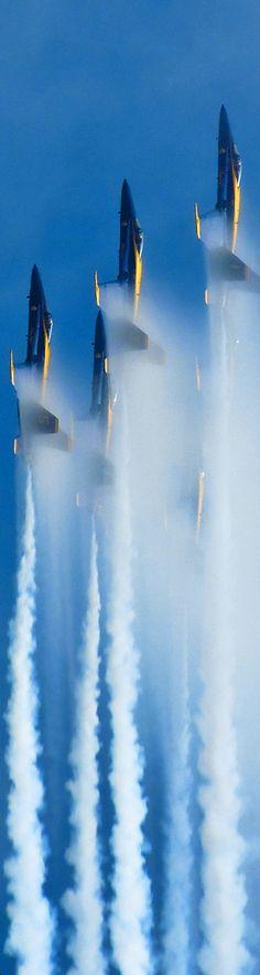 Blue Angels Vertical Formation
