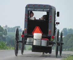 Amish buggy in Pennsylvania