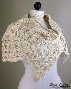 3 Lacy Cowls Crochet Pattern Set. $7.99