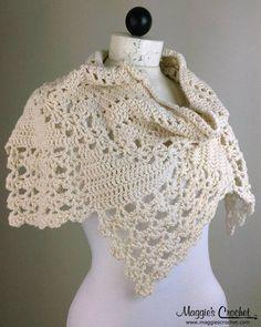 3 Lacy Cowls Crochet Pattern Set. $7.99