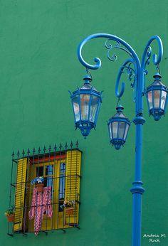 Una casa en Caminito en el barrio de La Boca Buenos Aires, argentina