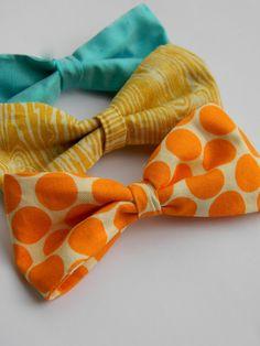 DIY: Simple Fabric Bow Tutorial!