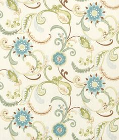 The fabric I used for my new curtains from onlinefabricstore.net  LOVE!!!
