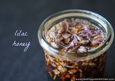 Make your own lilac honey