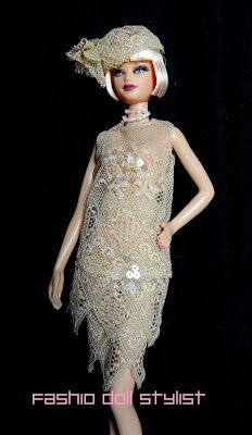 Fashion Doll Stylist: GATSBY!!!! Flapper dresses with lace